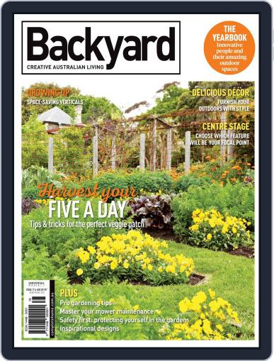 Backyard and Outdoor Living November 1st, 2019 Digital Back Issue Cover