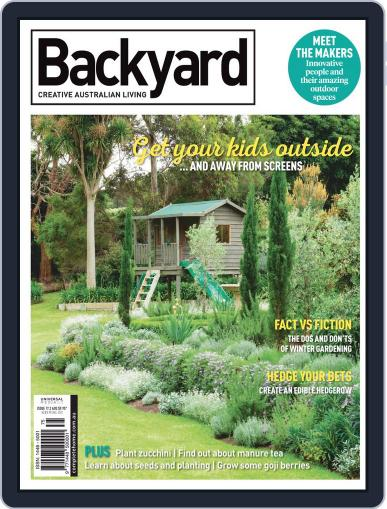 Backyard and Outdoor Living July 1st, 2019 Digital Back Issue Cover