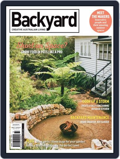 Backyard and Outdoor Living May 1st, 2019 Digital Back Issue Cover