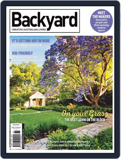 Backyard and Outdoor Living March 1st, 2019 Digital Back Issue Cover
