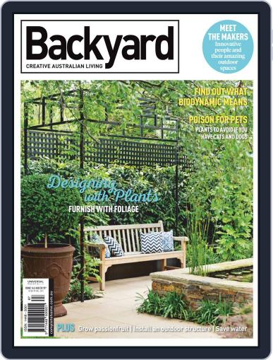 Backyard and Outdoor Living January 1st, 2019 Digital Back Issue Cover