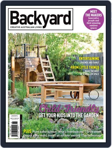 Backyard and Outdoor Living August 1st, 2018 Digital Back Issue Cover