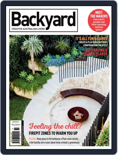 Backyard and Outdoor Living June 1st, 2018 Digital Back Issue Cover