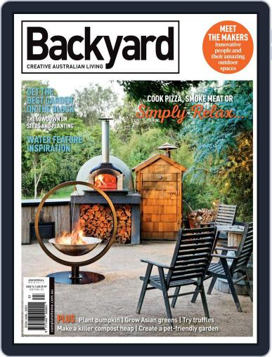 Backyard and Outdoor Living May 1st, 2018 Digital Back Issue Cover