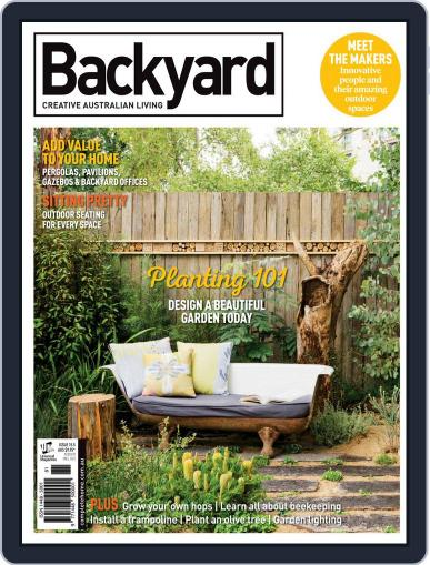 Backyard and Outdoor Living January 1st, 2018 Digital Back Issue Cover