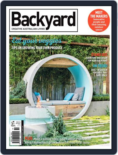 Backyard and Outdoor Living November 15th, 2017 Digital Back Issue Cover