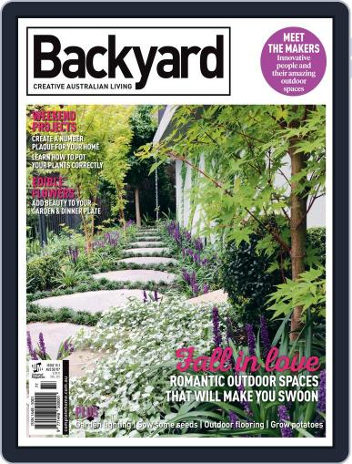 Backyard and Outdoor Living May 10th, 2017 Digital Back Issue Cover
