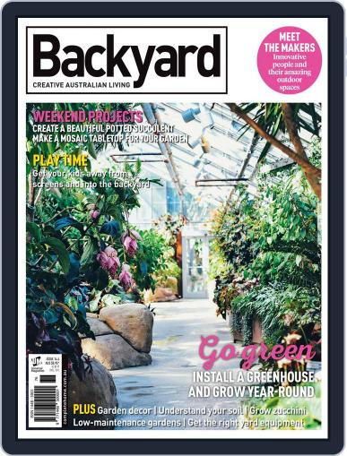 Backyard and Outdoor Living March 1st, 2017 Digital Back Issue Cover