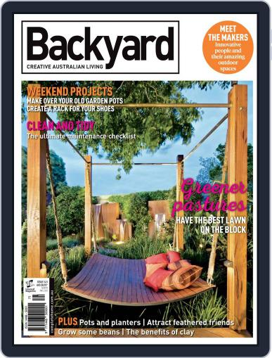 Backyard and Outdoor Living January 1st, 2017 Digital Back Issue Cover