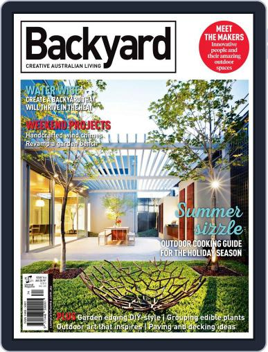 Backyard and Outdoor Living October 1st, 2016 Digital Back Issue Cover