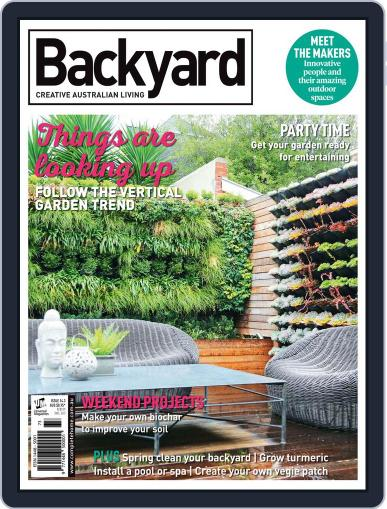 Backyard and Outdoor Living August 1st, 2016 Digital Back Issue Cover
