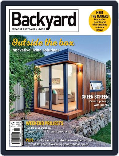 Backyard and Outdoor Living July 1st, 2016 Digital Back Issue Cover