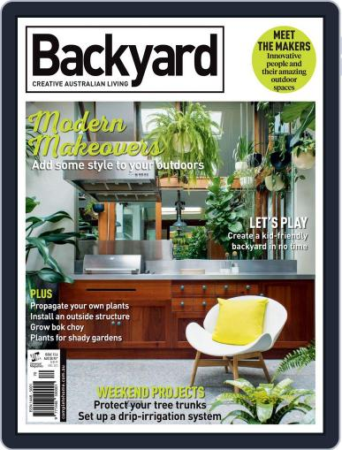 Backyard and Outdoor Living March 17th, 2016 Digital Back Issue Cover