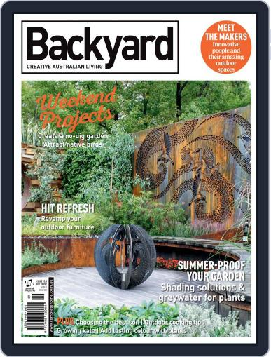 Backyard and Outdoor Living January 14th, 2016 Digital Back Issue Cover