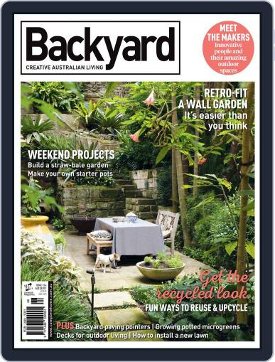 Backyard and Outdoor Living October 1st, 2015 Digital Back Issue Cover