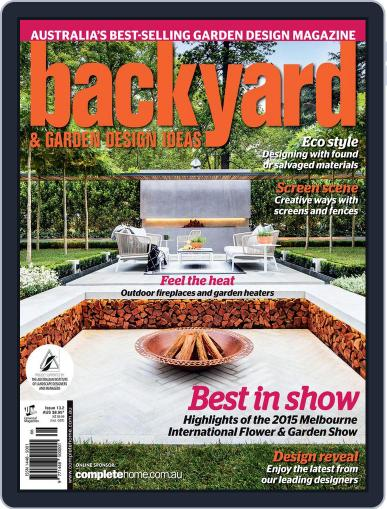 Backyard and Outdoor Living May 27th, 2015 Digital Back Issue Cover