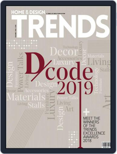 Home & Design Trends (Digital) May 1st, 2019 Issue Cover