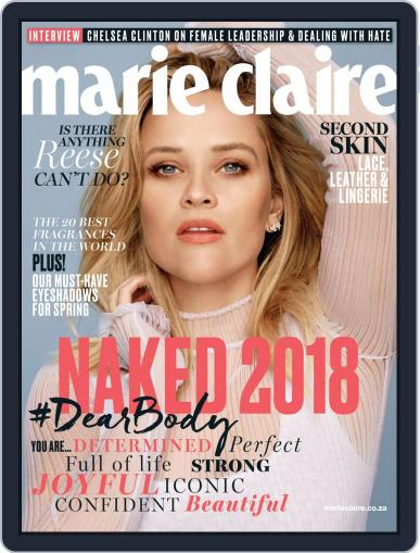 Marie Claire South Africa September 1st, 2018 Digital Back Issue Cover