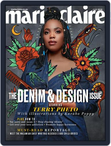 Marie Claire South Africa June 1st, 2018 Digital Back Issue Cover