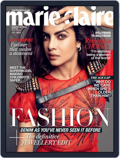 Marie Claire South Africa May 1st, 2017 Digital Back Issue Cover