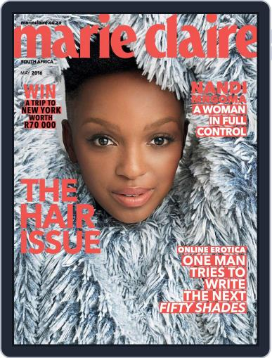 Marie Claire South Africa April 18th, 2016 Digital Back Issue Cover
