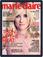 Marie Claire South Africa (Digital) Subscription November 23rd, 2011 Issue