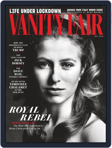 Vanity Fair UK (Digital) May 1st, 2020 Issue Cover