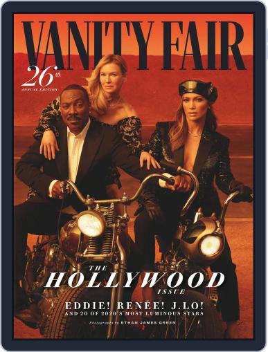 Vanity Fair UK January 17th, 2020 Digital Back Issue Cover