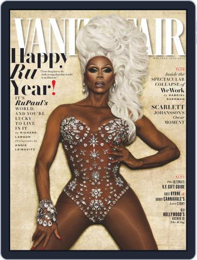 Vanity Fair UK November 22nd, 2019 Digital Back Issue Cover