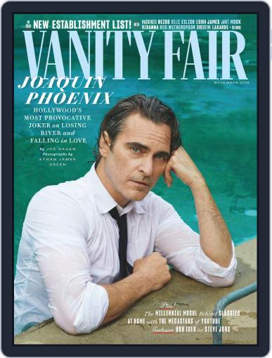Vanity Fair UK November 1st, 2019 Digital Back Issue Cover