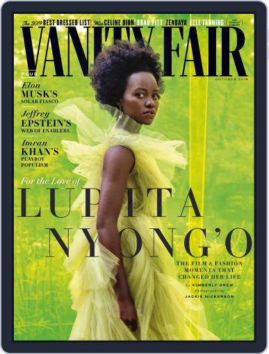 Vanity Fair UK October 1st, 2019 Digital Back Issue Cover