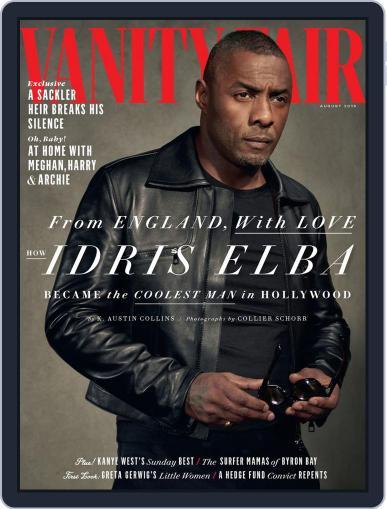 Vanity Fair UK (Digital) August 1st, 2019 Issue Cover