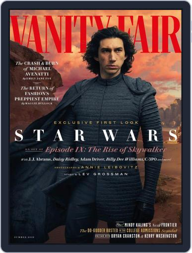 Vanity Fair UK (Digital) May 24th, 2019 Issue Cover