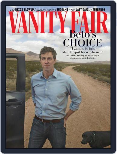 Vanity Fair UK (Digital) April 1st, 2019 Issue Cover