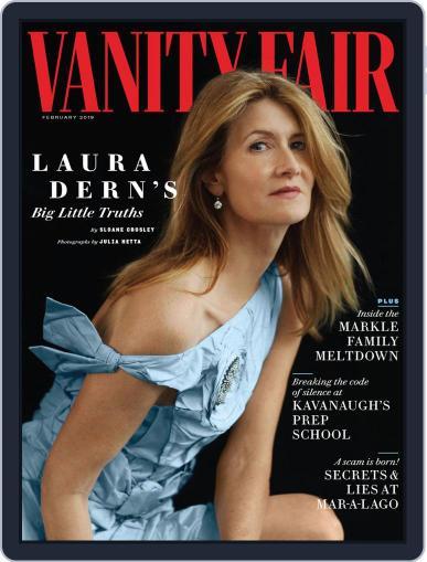 Vanity Fair UK (Digital) February 1st, 2019 Issue Cover