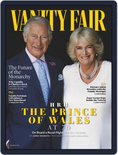 Vanity Fair UK (Digital) December 1st, 2018 Issue Cover