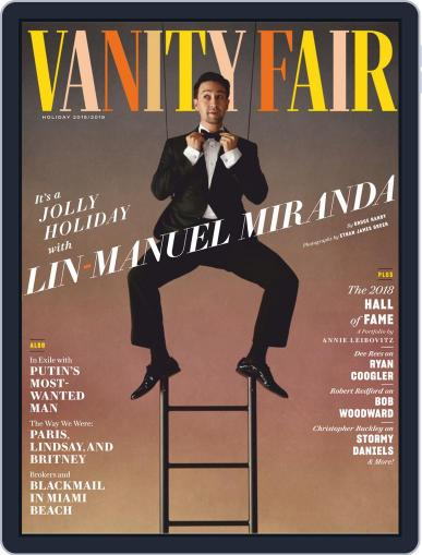 Vanity Fair UK (Digital) November 26th, 2018 Issue Cover
