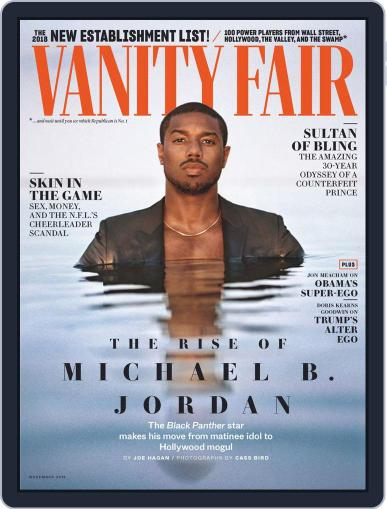 Vanity Fair UK (Digital) November 1st, 2018 Issue Cover
