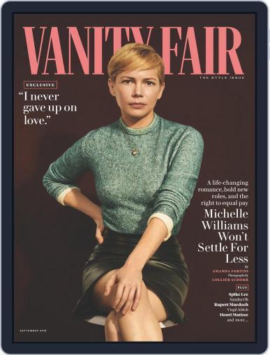 Vanity Fair UK (Digital) September 1st, 2018 Issue Cover