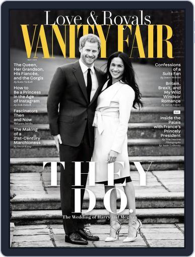 Vanity Fair UK (Digital) May 1st, 2018 Issue Cover