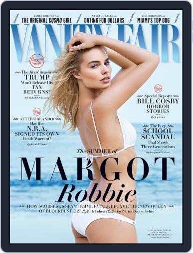 Vanity Fair UK July 13th, 2016 Digital Back Issue Cover
