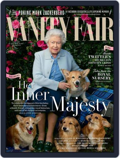 Vanity Fair UK June 8th, 2016 Digital Back Issue Cover