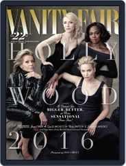 Vanity Fair UK (Digital) Subscription February 10th, 2016 Issue