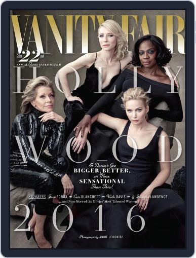 Vanity Fair UK February 10th, 2016 Digital Back Issue Cover
