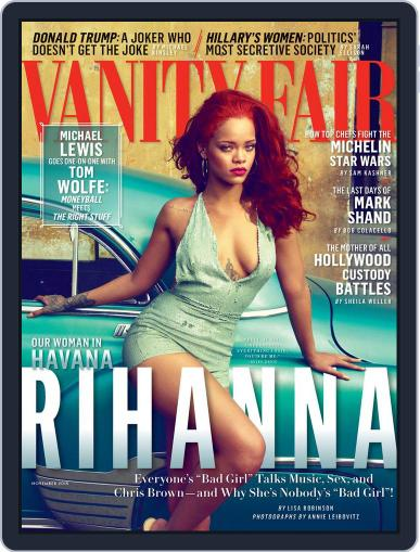 Vanity Fair UK October 13th, 2015 Digital Back Issue Cover