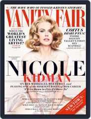 Vanity Fair UK (Digital) Subscription November 5th, 2013 Issue