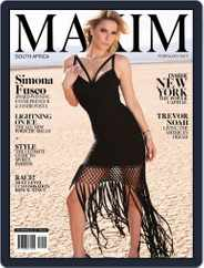 Maxim South Africa (Digital) Subscription February 1st, 2017 Issue