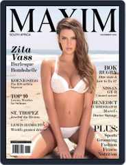 Maxim South Africa (Digital) Subscription November 1st, 2016 Issue