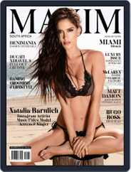 Maxim South Africa (Digital) Subscription July 25th, 2016 Issue