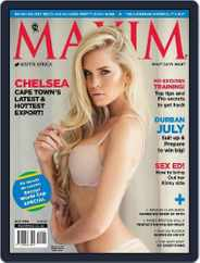 Maxim South Africa (Digital) Subscription June 30th, 2014 Issue